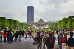 Париж, прибытие и прогулка к Эйфелевой башне_10